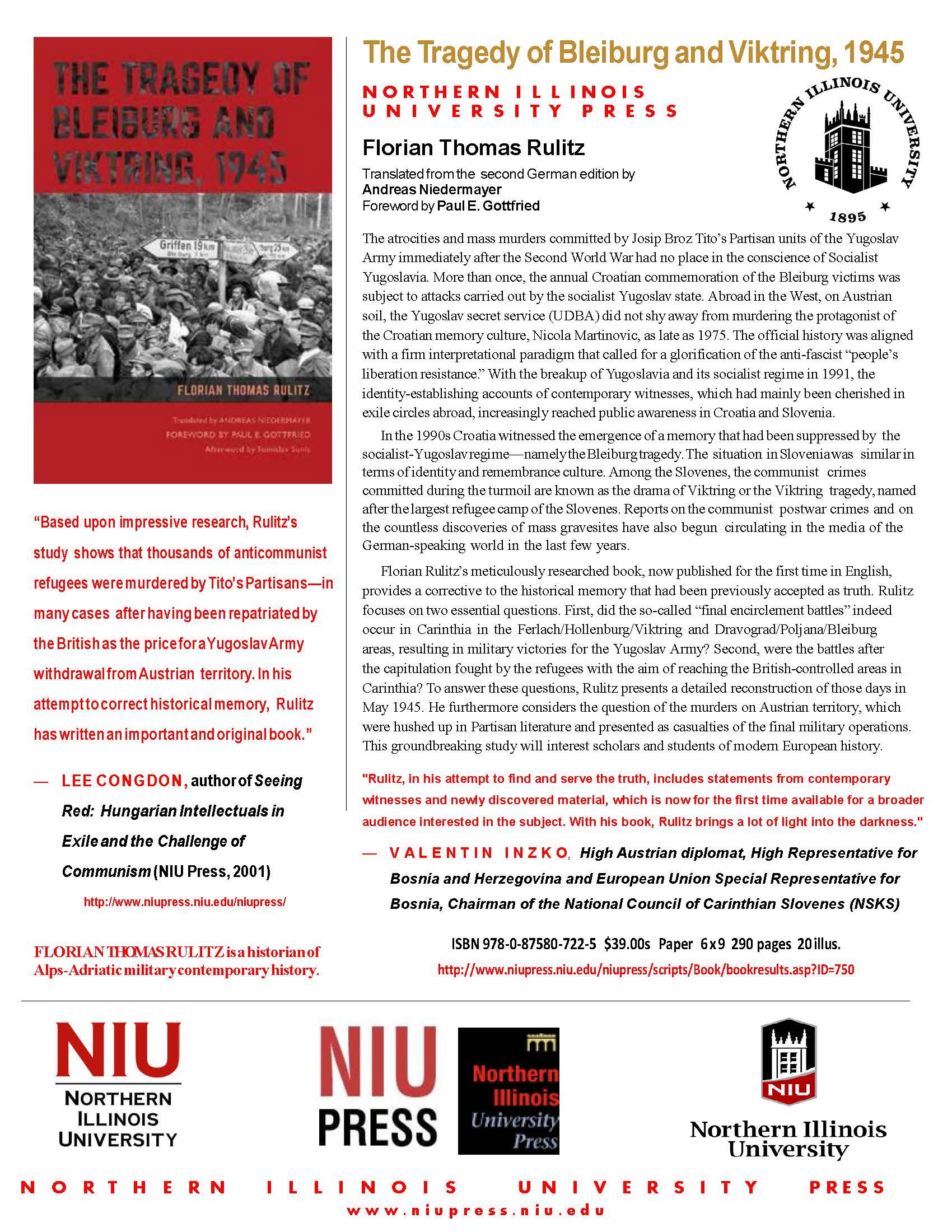 Flyer zur englischen Ausgabe